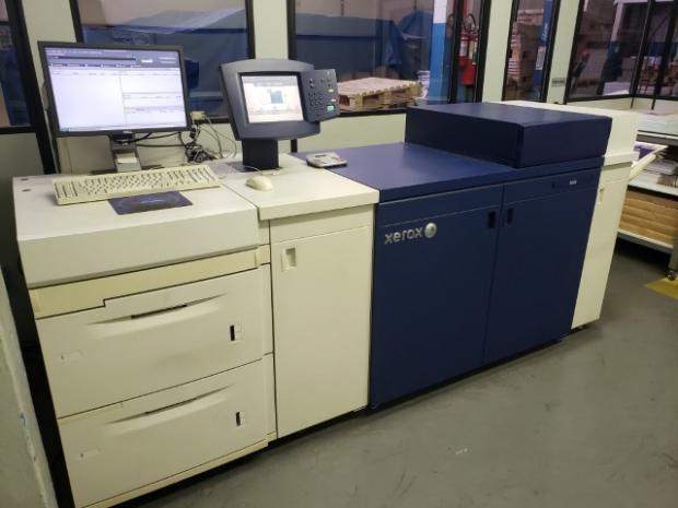 CÓD. 1603 - Xerox Docucolor 8080, ano 2013