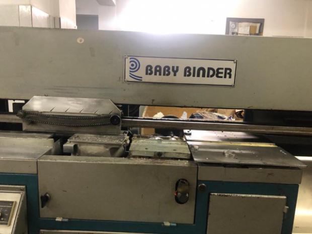 CÓD. 1843 - Coladeira de capas Radial Baby Binder ano 2005