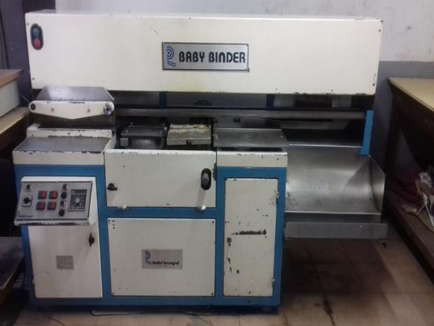 CÓD. 050 - De capas Radial Baby Binder