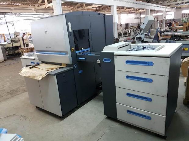 CÓD. 528 - HP Indigo Press 5500 com Up grade 5600, 6 cores ano 2011