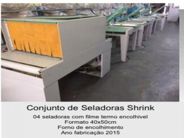 CÓD. 674 - Conjunto de Seladoras shrink