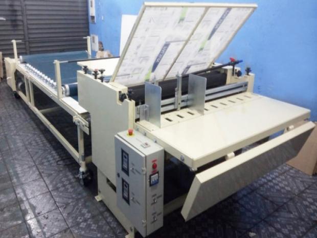 CÓD. 682 - Formato 1200 mm, semi automática, nova