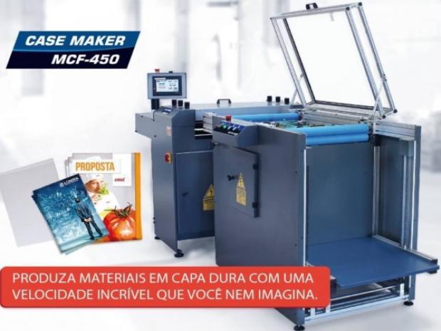 CÓD. 864 - Case Maker MCF 450 semi automática, nova