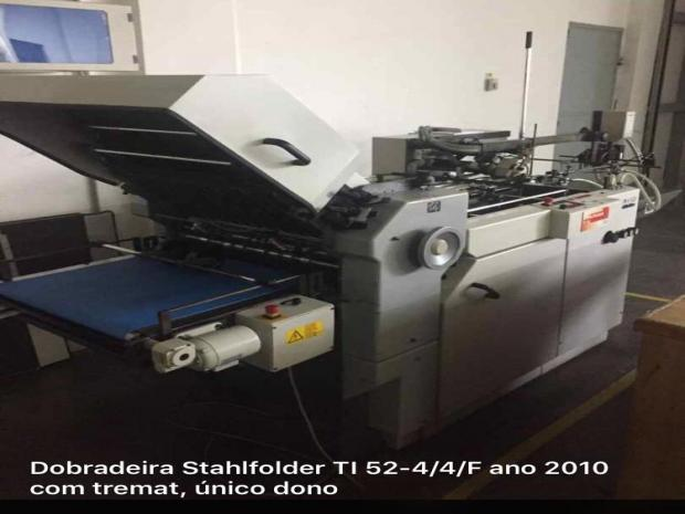 CÓD. 891 - Stahlfolder TI 52 ano 2010