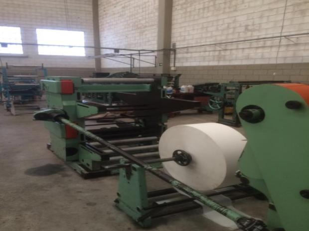 CÓD. 909 - Máquina de sacos de papel sanfonado Holweg Rotosac