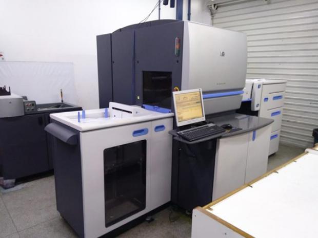 CÓD. 1334 - HP Indigo Press 5000, 6 cores, ano 2007